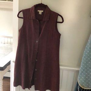 Vintage j Jill linen tunic